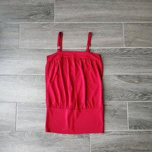 Express Dark Red Top - Size XS